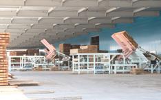 新工場製材ライン