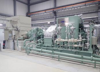 蒸気タービン・発電機イメージ